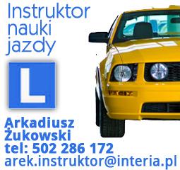 Arek - instruktor